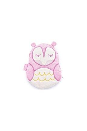 Babyjem Baby Jem Kiraz Çekirdekli Kurbağa Yastık Pembe Baykuş