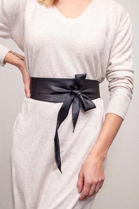 Modex Kadın Siyah Kuşaklı Bel Kemeri