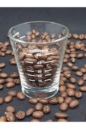 Ascaso Espresso Ölçü Bardağı, Oval, 60 ml
