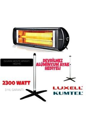 Luxell Ecoray 2300 W Ayaklı Infared Isıtıcı Ufo Elektrikli Ayaklı Isıtıcı 3 Yıl Garantili
