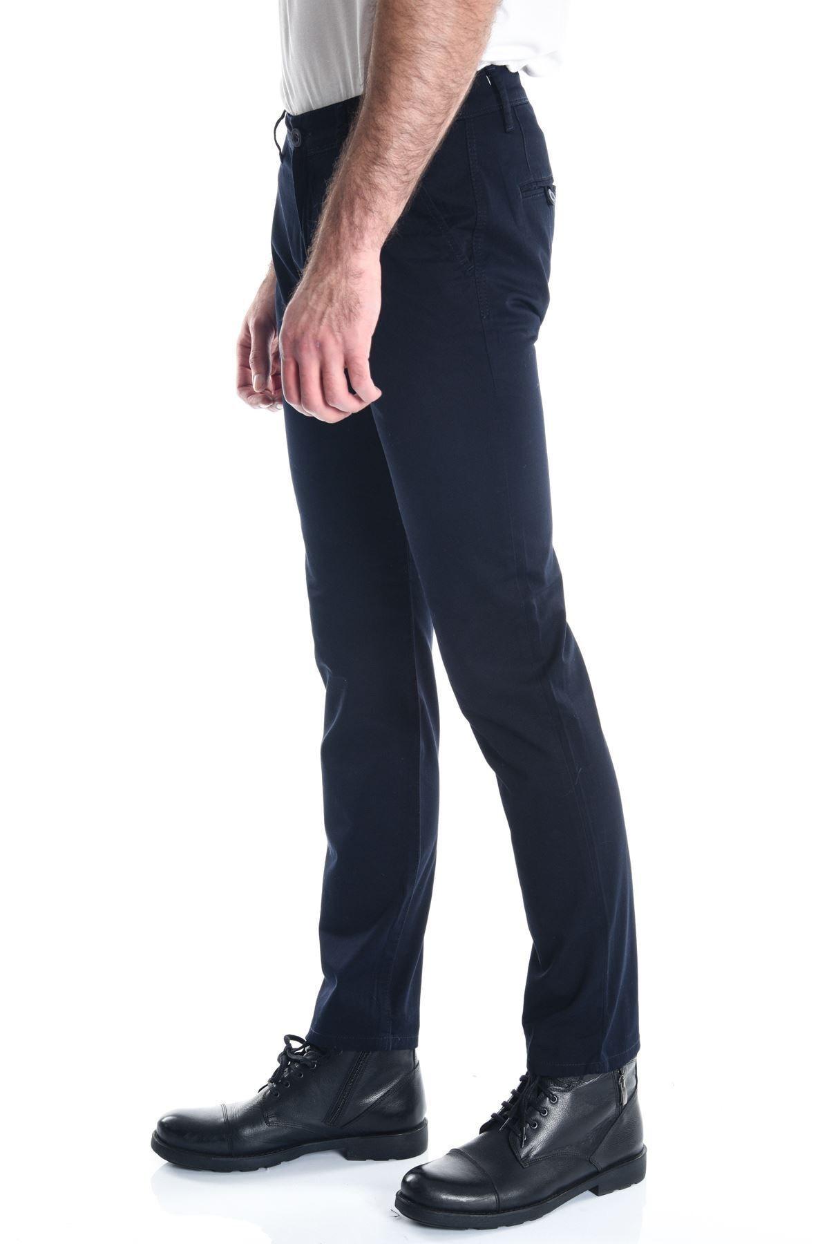 LTC Jeans Lacivert Chino Slimfit Erkek Pantolon 2