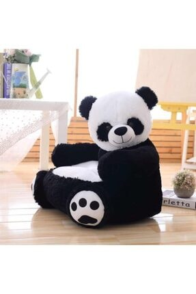 AYÇOCUK Peluş Panda Bebek Çocuk Koltuğu 65 Cm