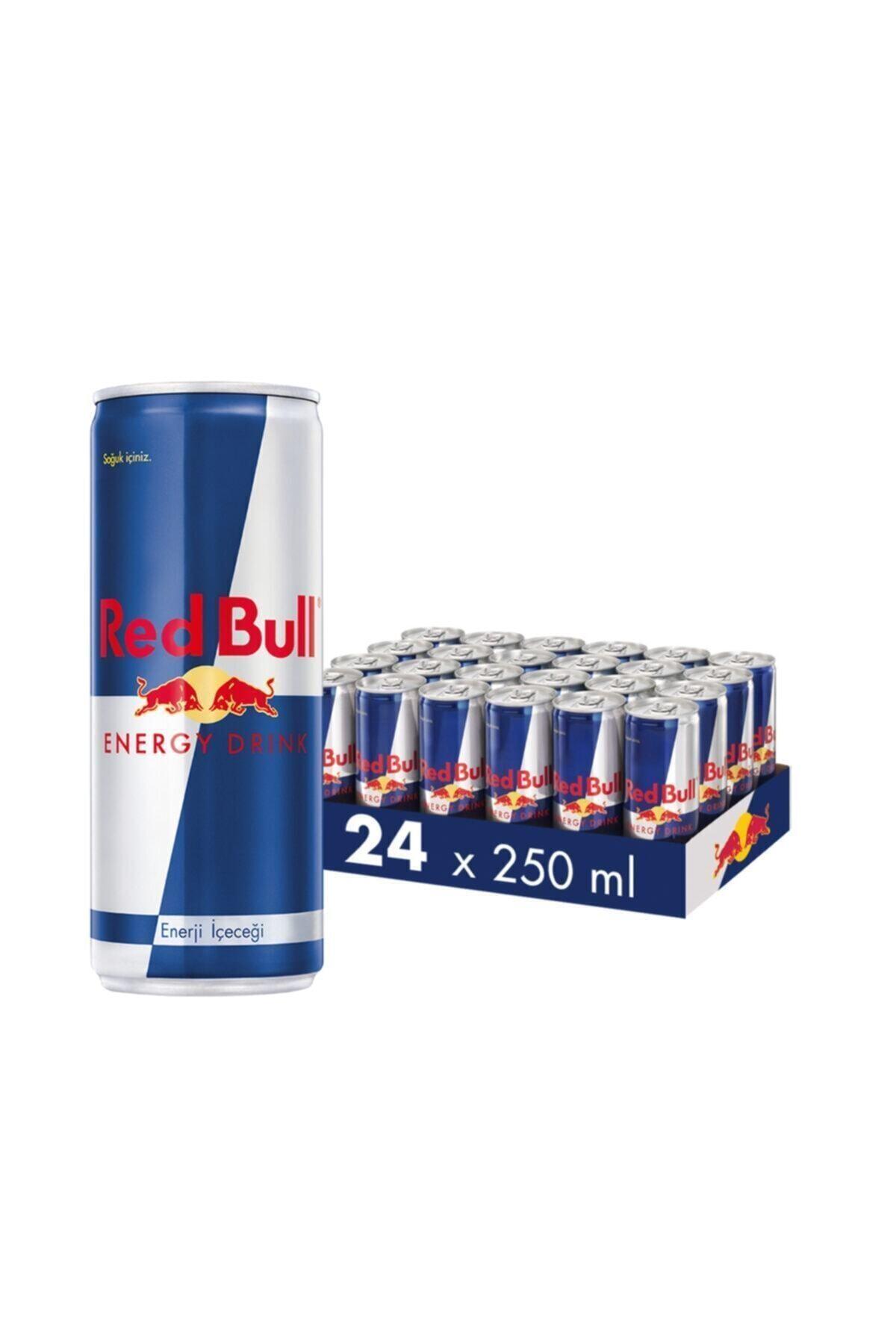 Red Bull Enerji Içeceği, 250 ml (24'lü Paket, 24x250 ml) 1