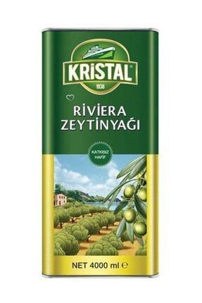Kristal Zeytinyağ Teneke 4000 ml