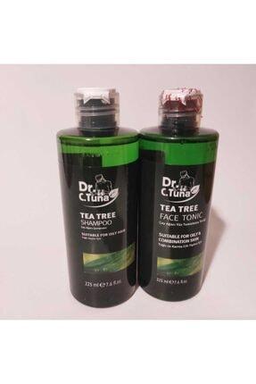 Farmasi Dr. C. Tuna Çay Ağacı Yağı Yüz Temizleme Toniği 225 ml - Dr. C. Tuna Çay Ağacı Şampuanı 225 ml