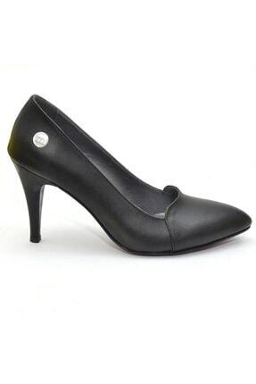 Mammamia Siyah Kadın Topuklu Ayakkabı