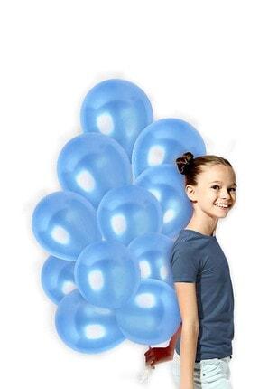 Magic Hobby Mavi Renk Metalik Balon 20 Adet ( 20'li Paket)