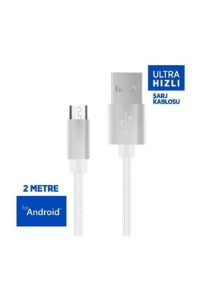 Polosmart Psm01 2 Metre Android Hızlı Şarj Kablosu