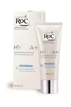 Roc Hydra+creme 24h Norma Skin Fluid Light 40 ml