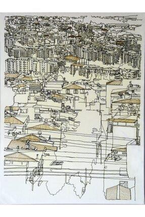 Veysel Daşçı The City 5, 60x80, Nakış