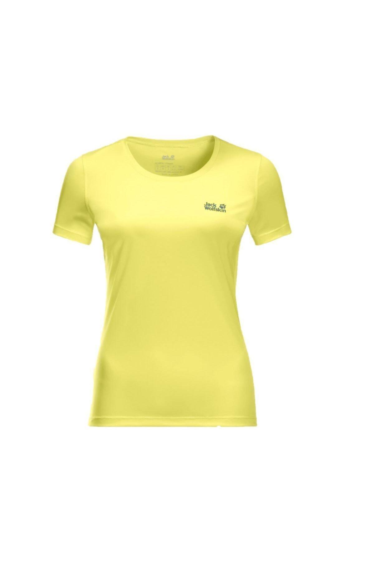 Jack Wolfskin Tech Kadın Outdoor T-shirt 1