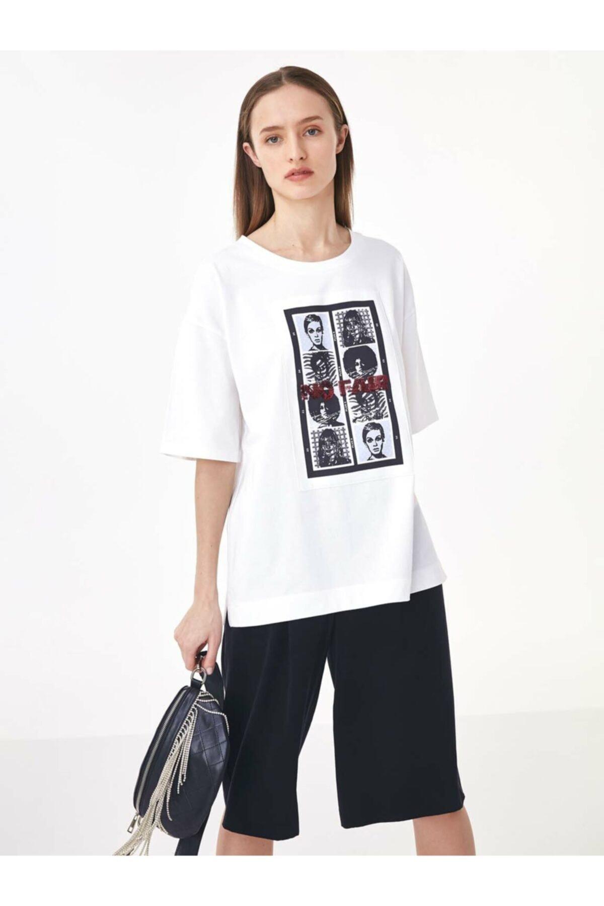 Twist Görsel Baskılı Tshirt 2