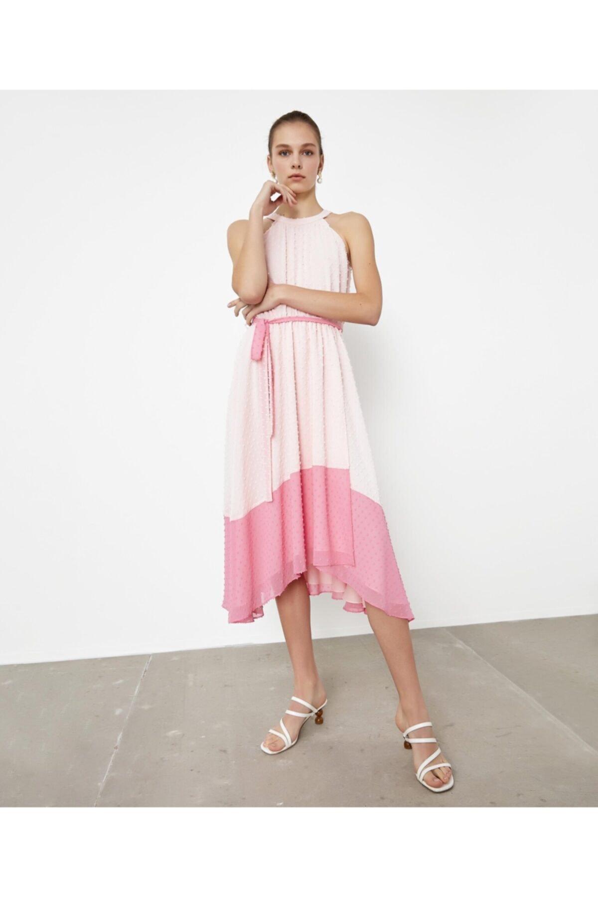 İpekyol Renk Geçişli Elbise 2