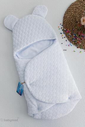 Babymod Kabartmalı Velboa Erkek Bebek Kundak