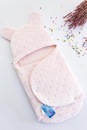 Babymod Kadife Kız Bebek Kundak Bebek Battaniye