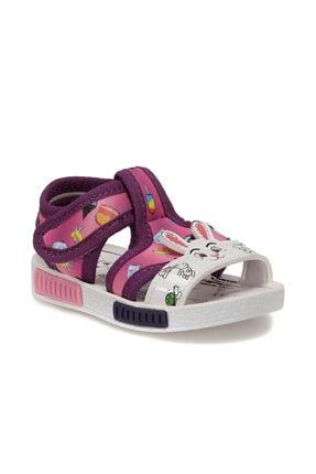 Polaris 512498.B Mor Kız Çocuk Sandalet 100499896