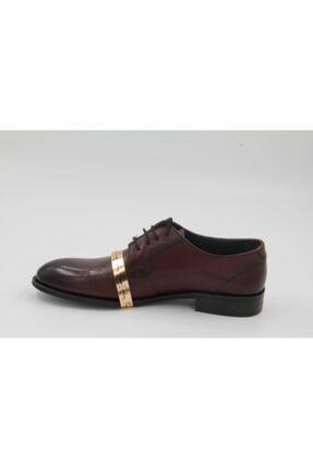 Pierre Cardin Bordo Hakiki Deri Klasik Ayakkabı