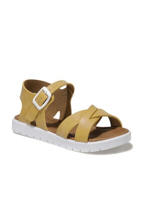 Polaris 508159.F1FX Sarı Kız Çocuk Sandalet 101010668