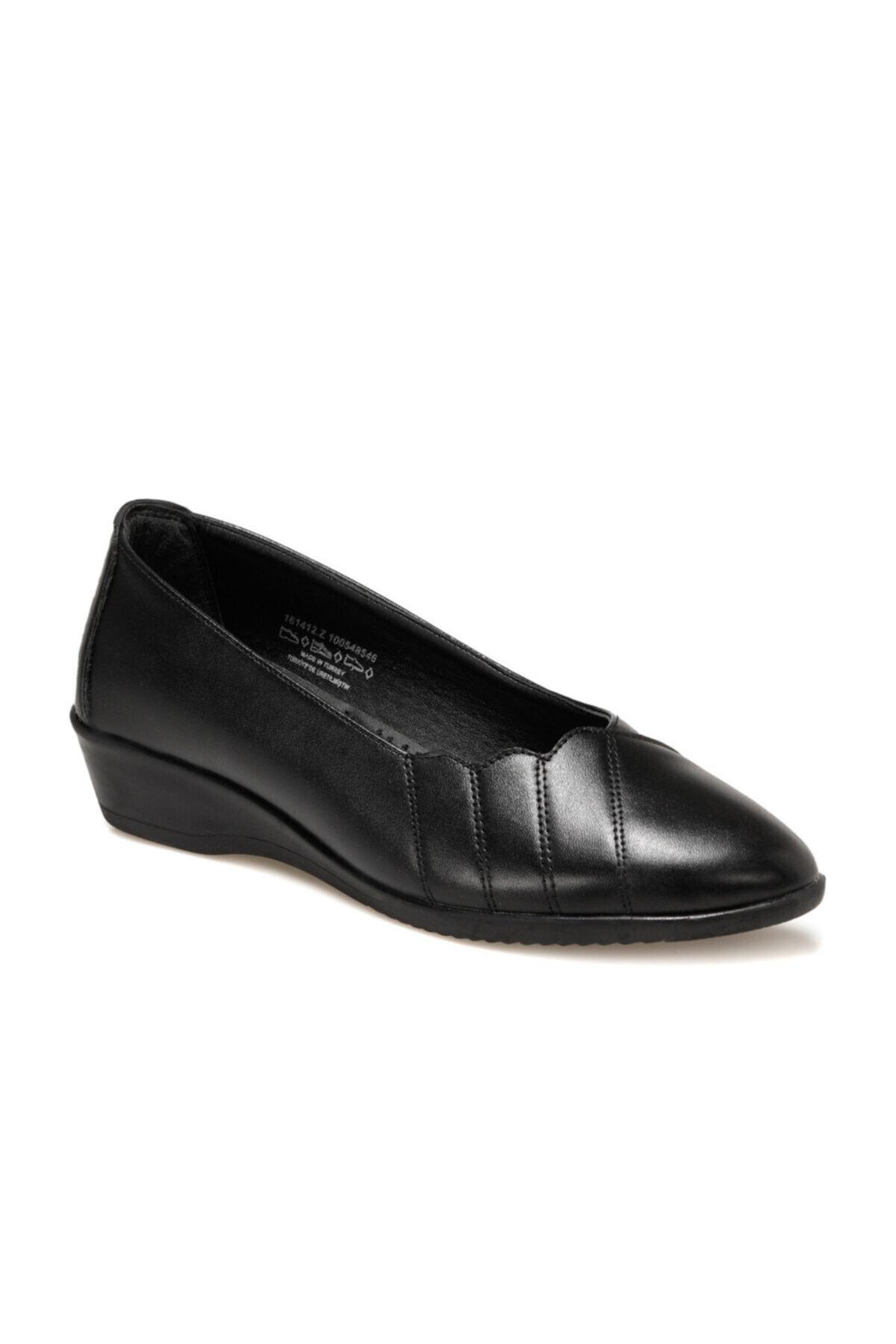 Polaris 161412.Z Siyah Kadın Comfort Ayakkabı 100548546 1