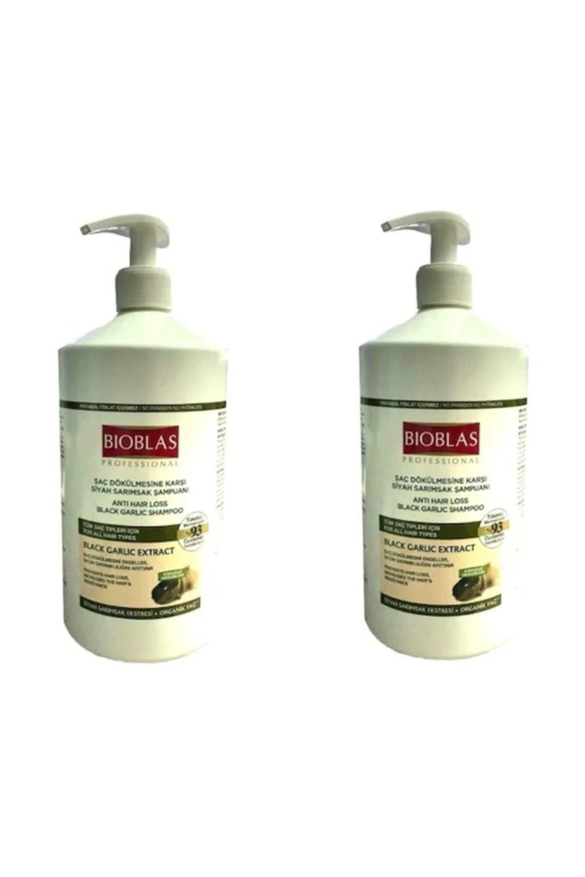 Bioblas Siyah-kara Sarımsak Şampuanı 1000 ml 2 Adet 1
