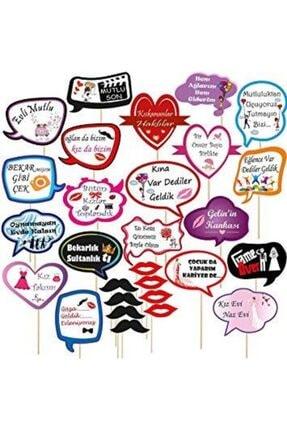 Evsay Kına Gecesi Kına Malzemesi Konuşma Pankartı 10 Adet