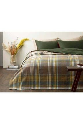 English Home Stemford Scotch Çift Kişilik Battaniye 200x220 Cm Bej
