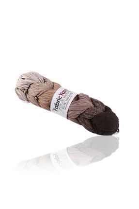 The Fabric Yarn Kahve 7 Renk Makrome Ip
