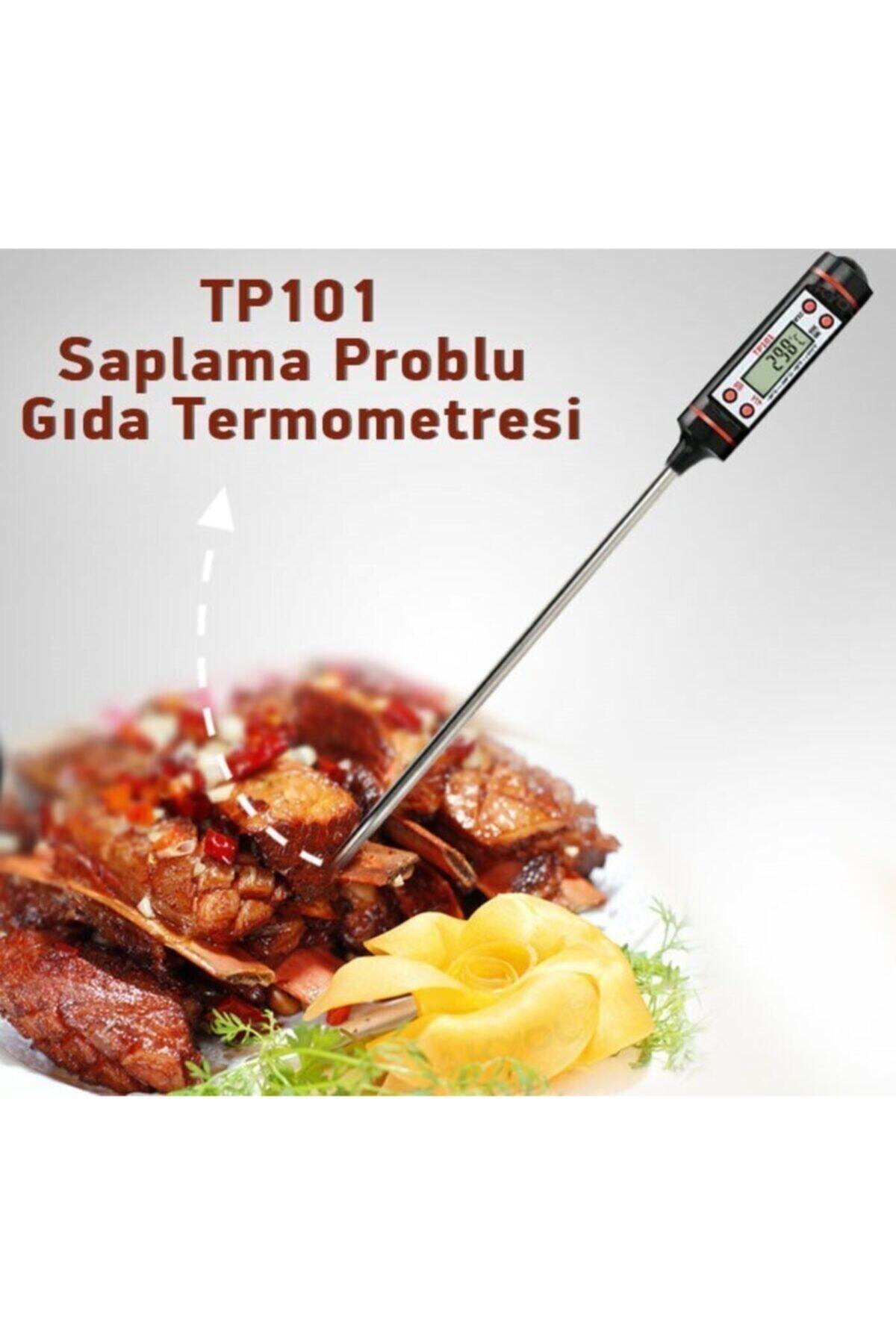 Kısmet Dijital Gıda Termometersi Sıvı Gıda,et,su,süt Yiyecek Sıcaklık Ölçer Mutfak Için Gıda Termometresi 2