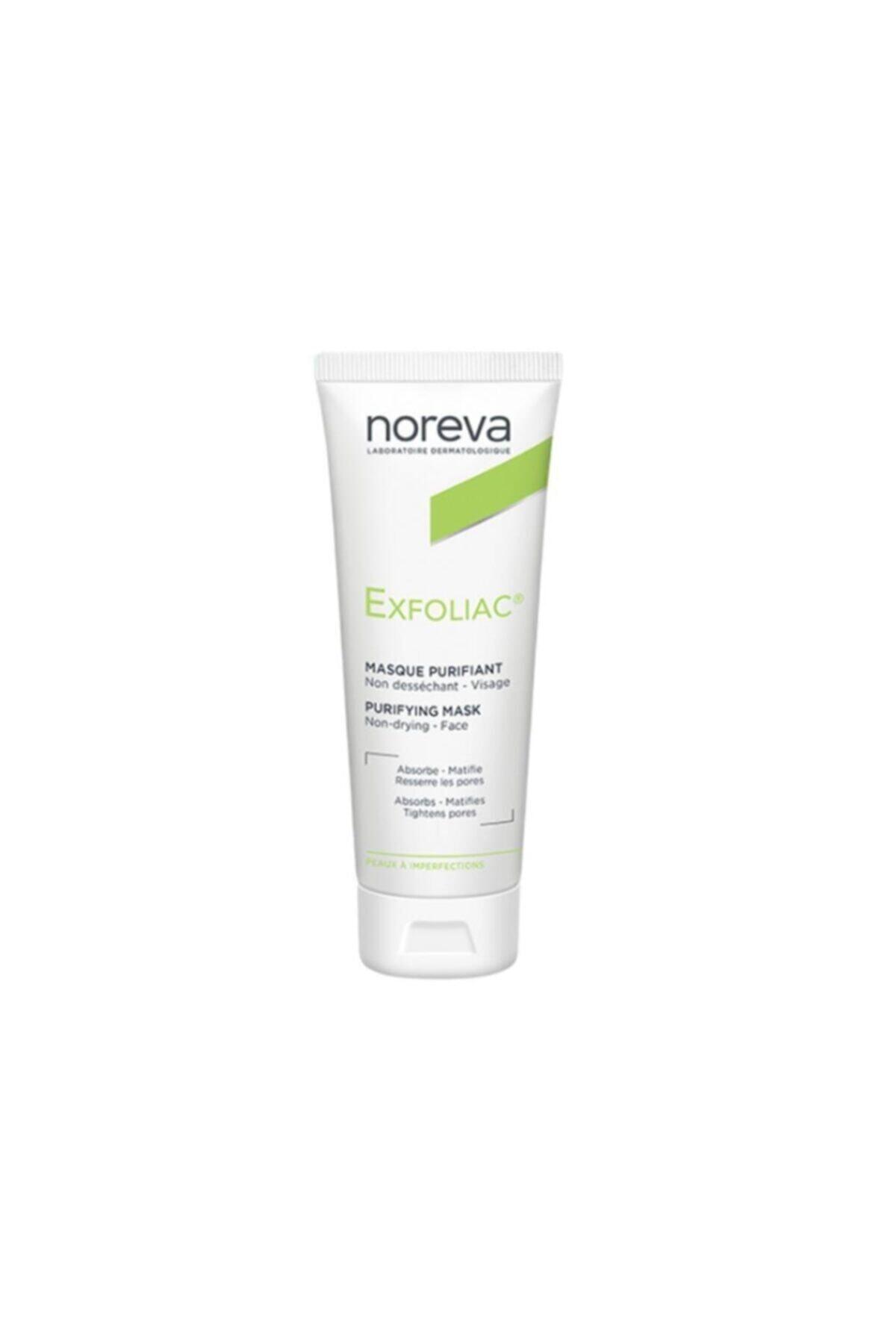 Noreva Exfoliac Deep Cleansing Mask 50ml - Derin Gözenek Arındırıcı Maske / Matlaştırıcı Etkili 1