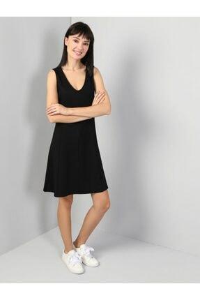Colin's KADIN Regular Fit Kadın Siyah Elbise CL1045078