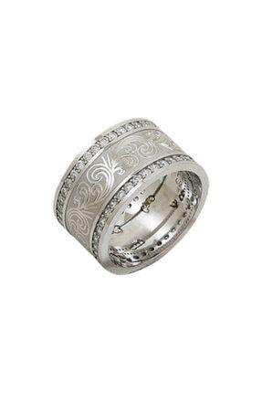 Zuk Collection Gümüş Zirkon Taşlı Alyans