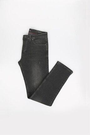 Jakamen Siyah Slim Fit Erkek Kot Pantolon