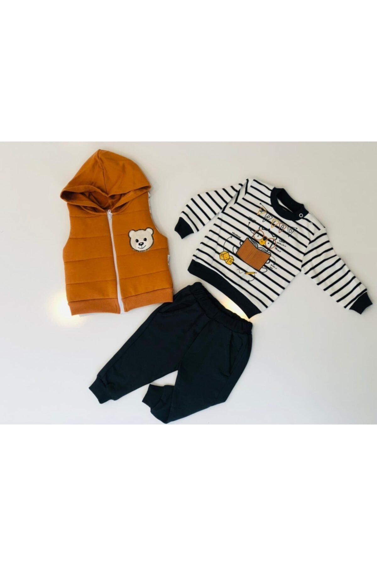 Hippıl Baby Bebek Yelekli Takım 2