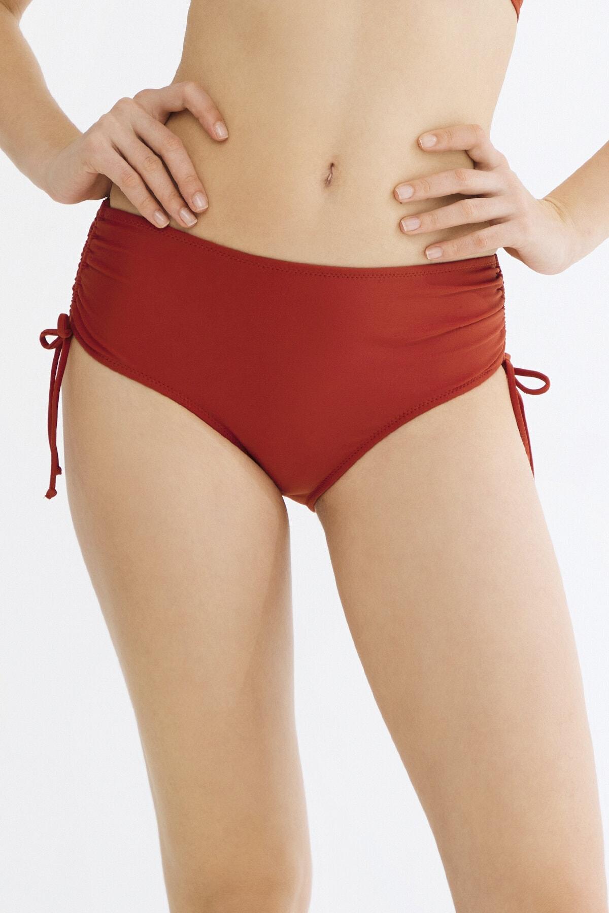 Penti Turuncu Basic Yüksek Bel Ring Bikini Altı 1