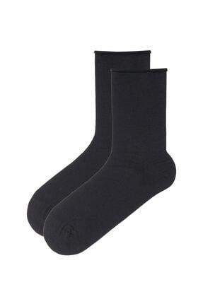 Penti Antrasit Soft 2li Soket Çorap