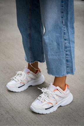 Sivarro Vector Beyaz Turuncu Outdoor Ayakkabı