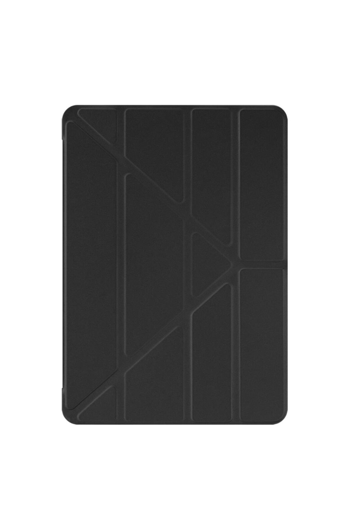 Microsonic Samsung Galaxy Tab S7 T870 Kılıf Origami Pencil Siyah 2