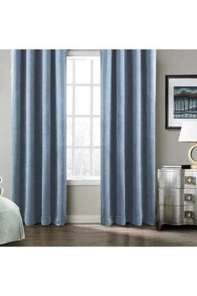 Premier Home Harmony Fon Perde Mavi 140x270 Tek Ka