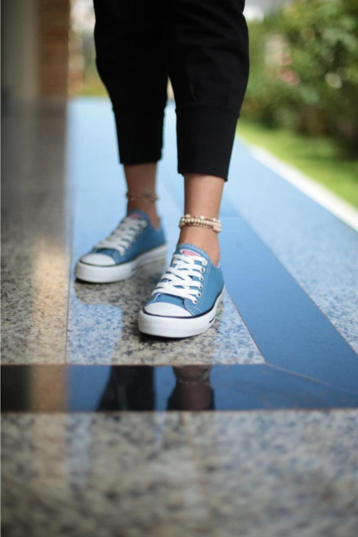 ESPARDİLE Kadın Mavi Spor Ayakkabı 1