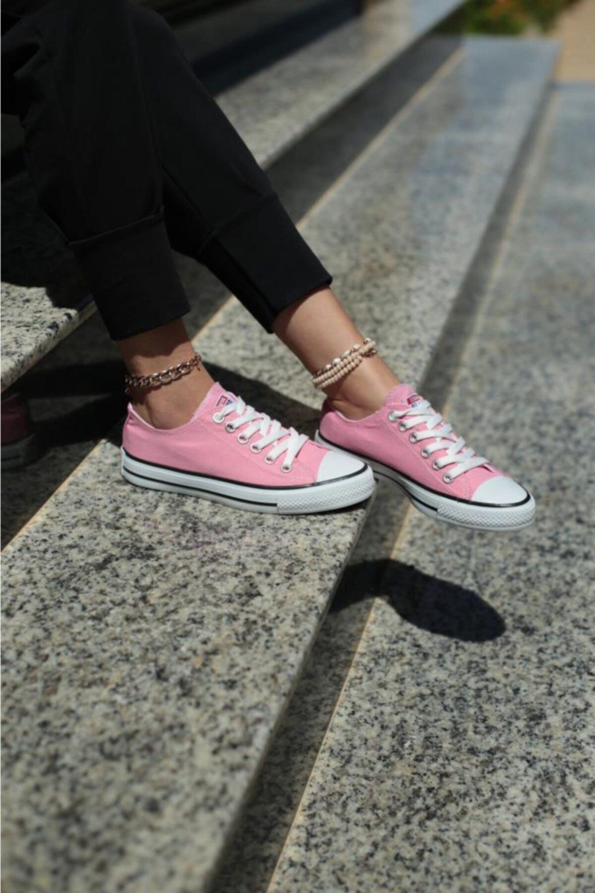 ESPARDİLE Kadın Pembe Spor Ayakkabı 1