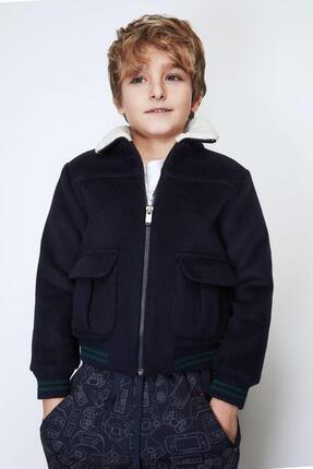 Nebbati Erkek Çocuk Lacivert Mont