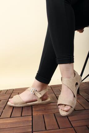 Oksit Florin 561 Hasır Kadın Sandalet