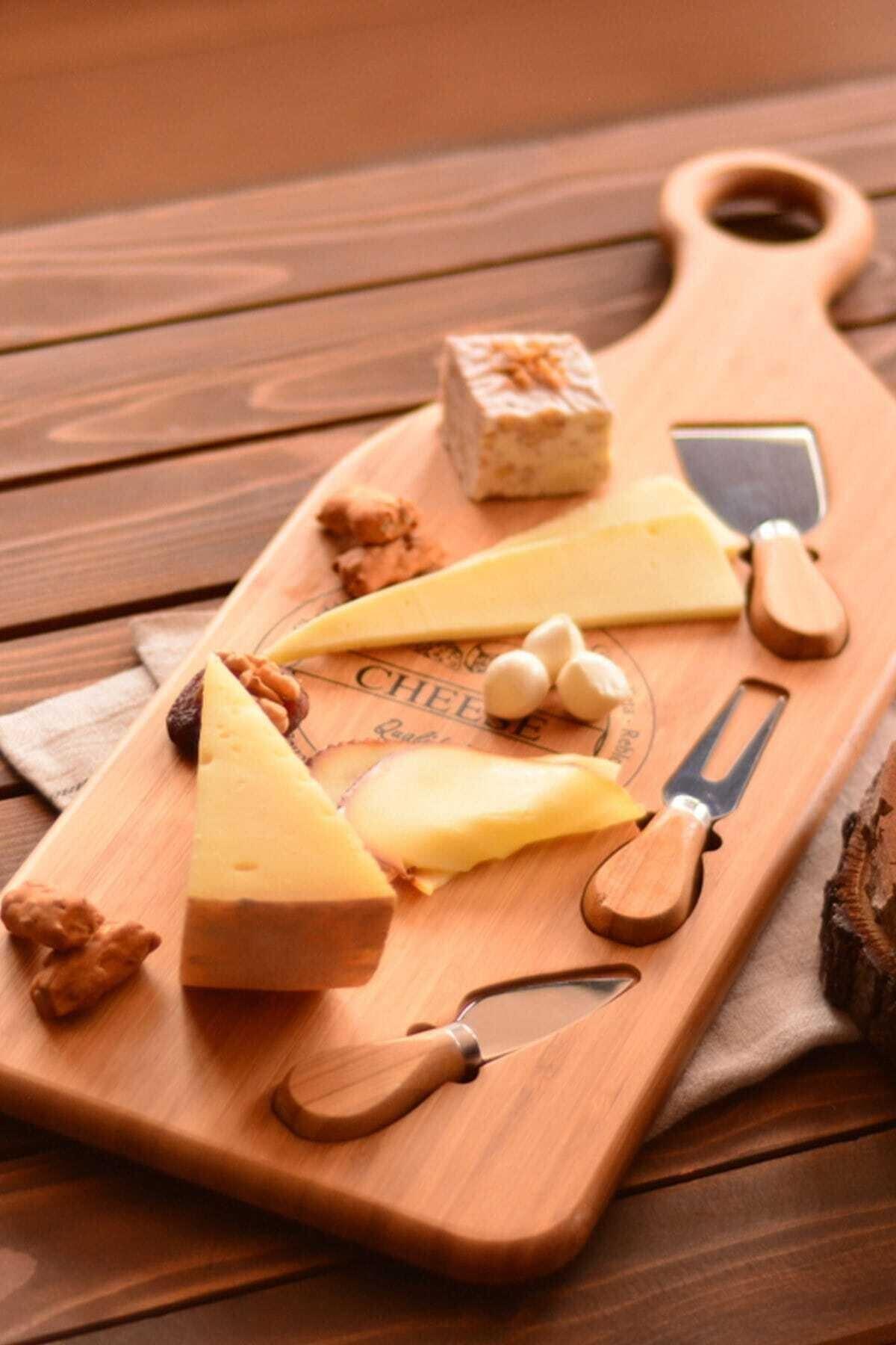 Bambum Osna – 4 Parça Peynir Servis Seti 1