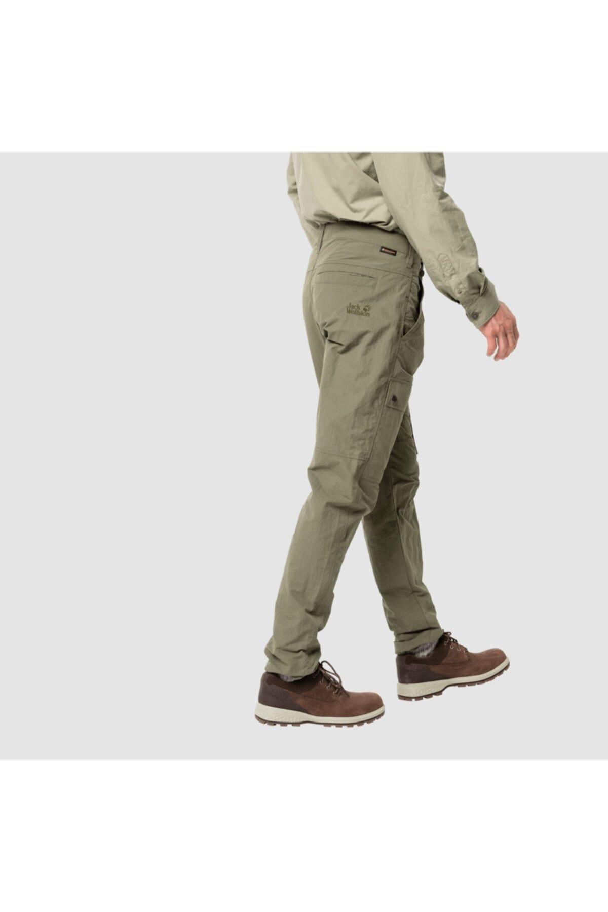 Jack Wolfskin Lakesıde Pants M Khaki 2