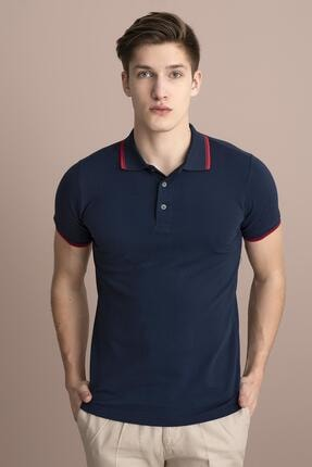 TENA MODA Erkek Marine Polo Yaka Tişört