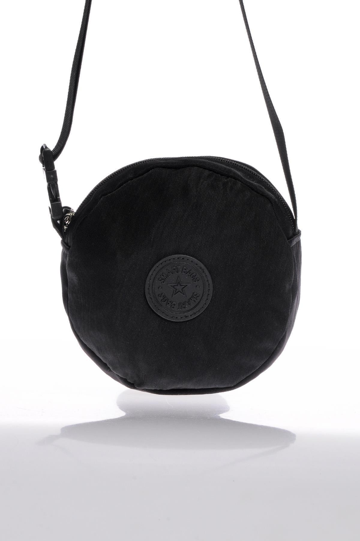 SMART BAGS Smb6001-0001 Siyah Kadın Minik Çapraz Çanta 1