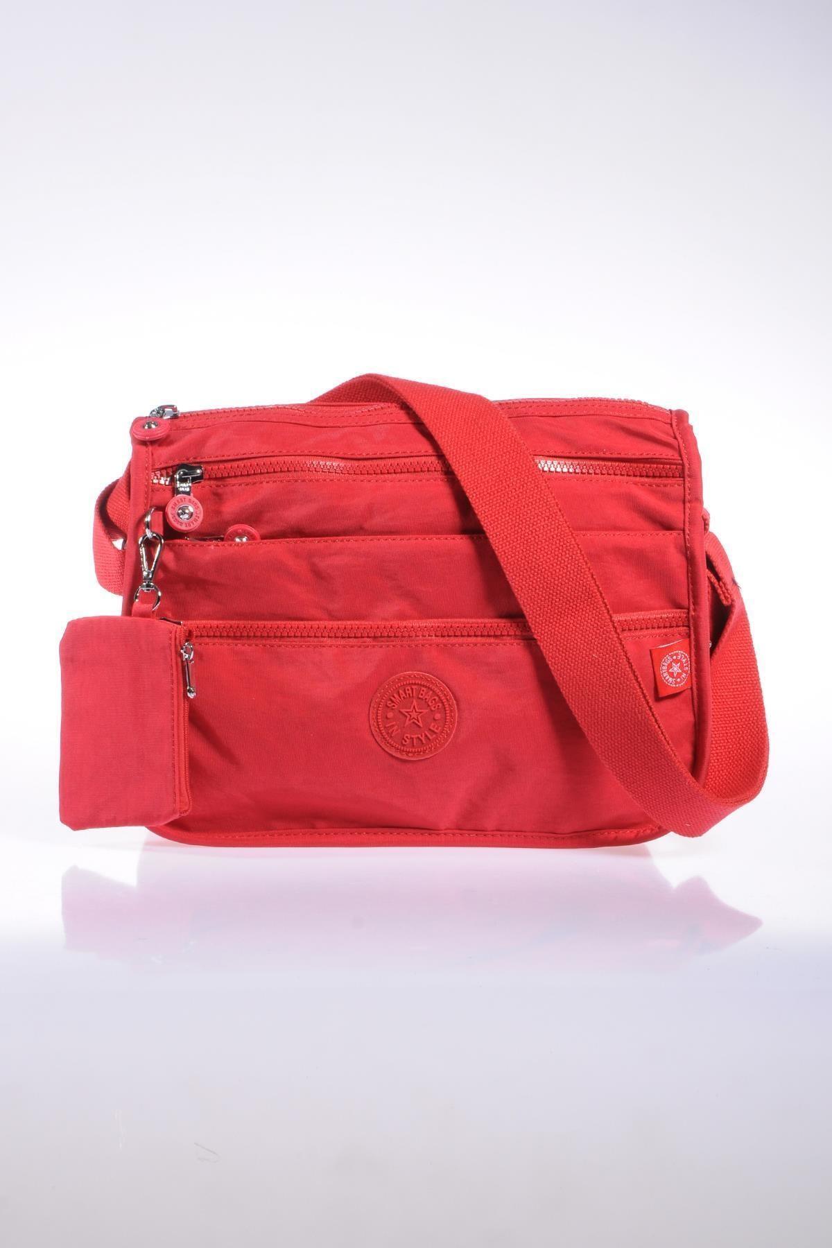 SMART BAGS Smb1128-0019 Kırmızı Kadın Çapraz Çanta 1