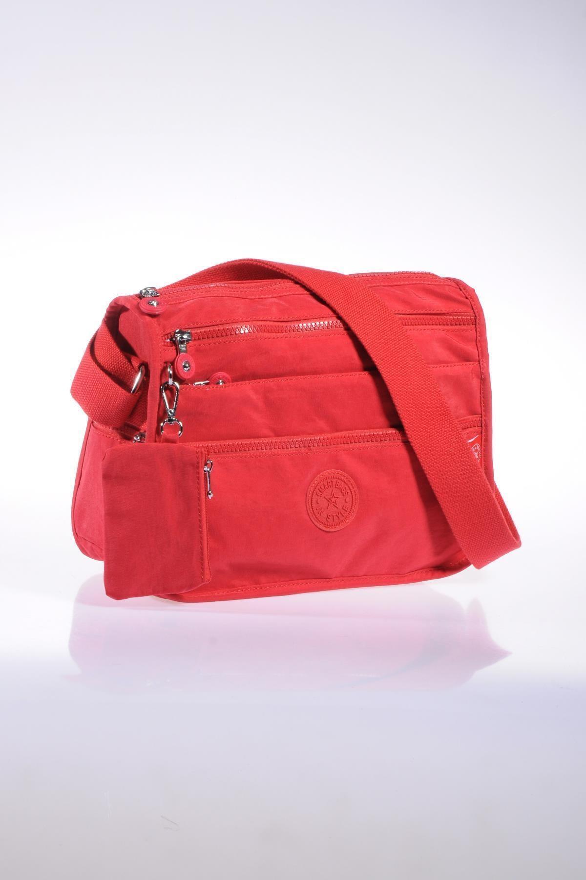 SMART BAGS Smb1128-0019 Kırmızı Kadın Çapraz Çanta 2