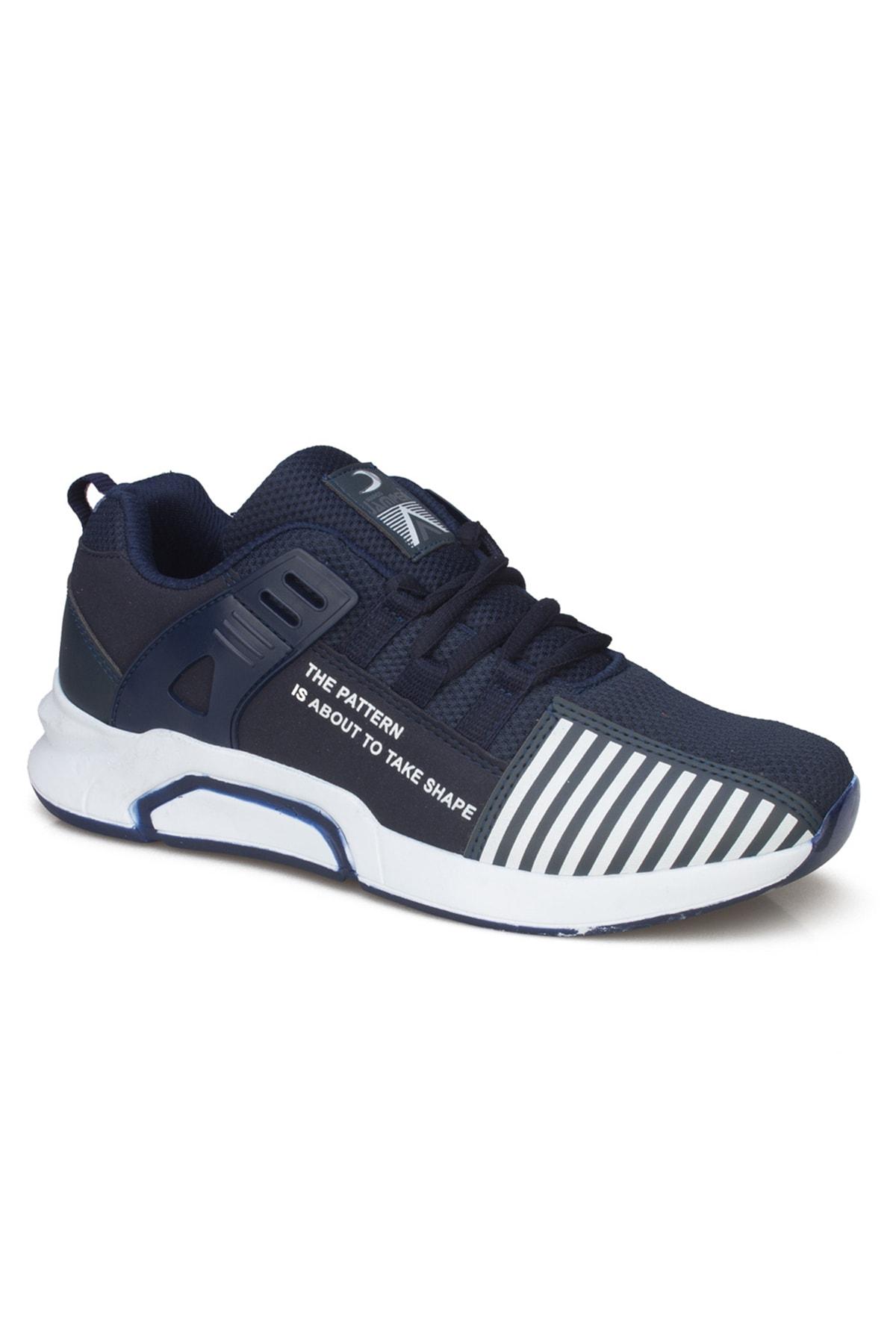 Marco Jamper Erkek Lacivert Günlük Sneaker Ayakkabı 1