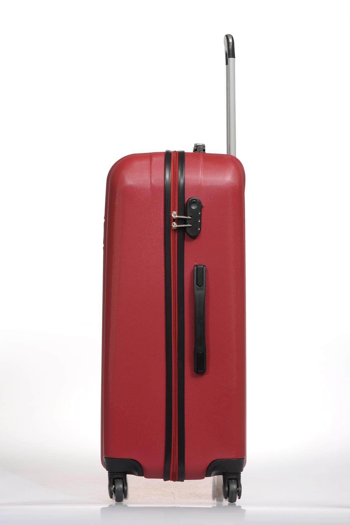 Fossil Fsy1225y-l Kırmızı Unisex Büyük Boy Bavul 2